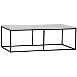 Lois Coffee Table - White Stone