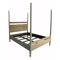Venice Bed - Queen - Weathered