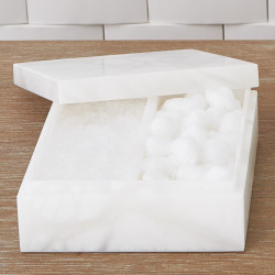 Alabaster Amenities Box