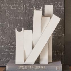 Collage Vase - Matte White