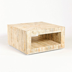 Driftwood Coffee Table - Square
