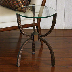 Teton Accent Table - Bronze