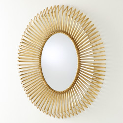 Andrea's Mirror - Gold Leaf