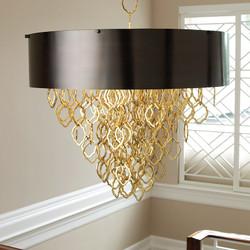 Chain Pendant - Brass/Bronze