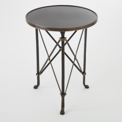 Noir Dior Counter Stool Antique Brass