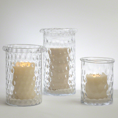 Global Views Honeycomb Hurricane Vase Med Interior Homescapes