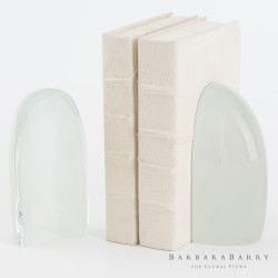 Iceberg Bookends - Mist - Pair