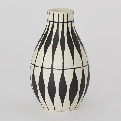 Global Views Napoli Vase Leaf Pattern Interior Homescapes