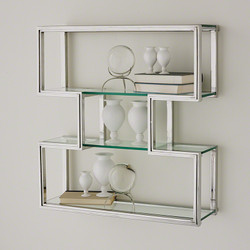 One Up Wall Shelf - Stainless Steel Finish