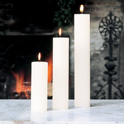 "Pillar Candle - Unscented - 2""x9"""