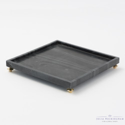 Quintessential Tray - Square - Black