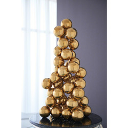 Sphere Sculpture - Brass