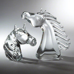 Thoroughbred Horse Head - Lg
