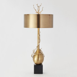 Twig Bulb Lamp - Brass