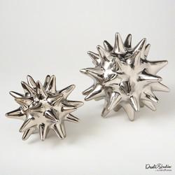 Urchin - Bright Silver - Lg