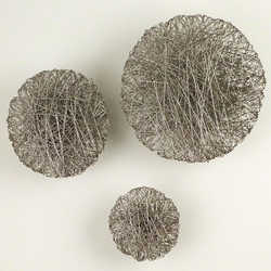 Wired Wall Disc - Nickel - Med