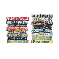 Vintage French Attractions Signs