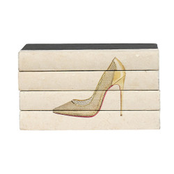 E Lawrence Hot Heels 4 Volume Stack - Gold