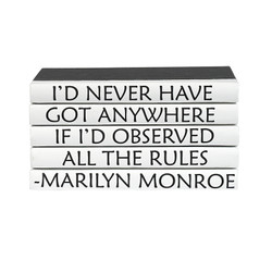 5 Vol Quotes - Marilyn