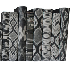 Sumatra Ikat Black and Gray