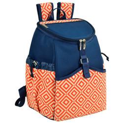 Cooler Backpack - 22 Can Capacity - Diamond Orange image 1