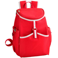 Cooler Backpack - 22 Can Capacity - Red image 1