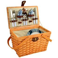 Frisco Picnic Basket For Two - Aegean image 1