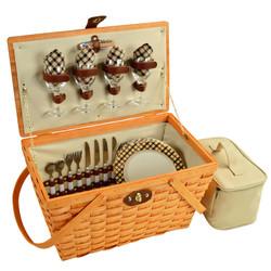 Settler Picnic Basket for Four - London image 1