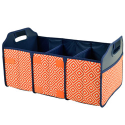 Collapsible Trunk Organizer - Diamond Orange image 1
