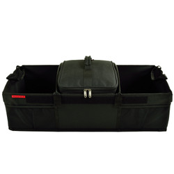 Ultimate Trunk Organizer WITH 28 Can Cooler - Black image 1