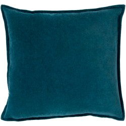 Surya Cotton Velvet Pillow - CV004 - 13 x 19 x 4 - Down