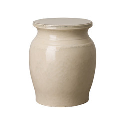 Koji Garden Stool/Table - Cream