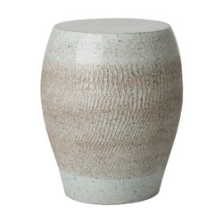 Seigi Garden Stool/Table - Coastal Splash