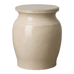 Large Koji Garden Stool/Table - Cream