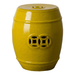 Fortune Stool - Mustard Yellow