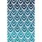 """Loloi Venice Beach Rug  VB-20 Blue / Multi - 2'-3"""" x 3'-9"""""""