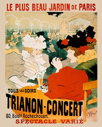 Art Classics Poster for the Trianon Concert