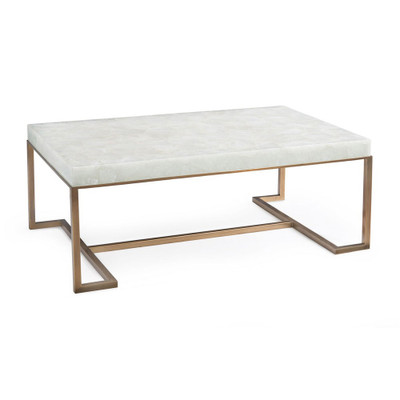 John Richard Rectangular Calcite Coffee Table - John richard coffee table