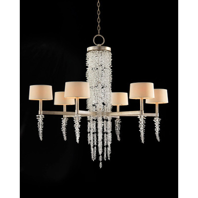 John richard cascading crystal waterfall six light chandelier aloadofball Gallery