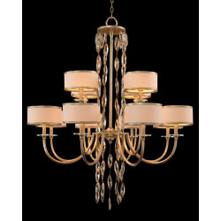 John Richard Counterpoint Twelve-Light Chandelier