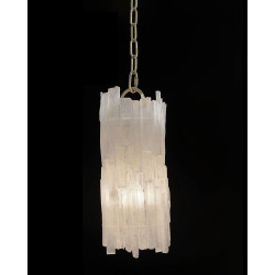 John Richard Natural Selenite Pendant
