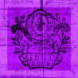 Art Classics Bright Stamp Purple