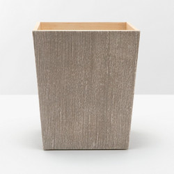 Pigeon & Poodle Bruges Waste Basket Square/ Tapered - Sand - Square