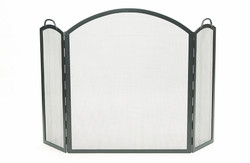 Arched Three-Fold Screen