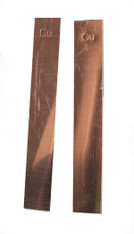 Copper Electrode, Flat, One piece