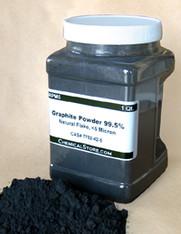 Graphite Powder, Micronized Flake, >95% (Quart Container)
