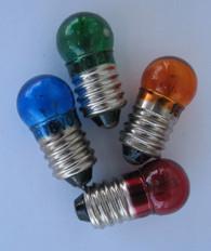 Colored Light Bulbs, 6V - 18V DC (Select Color)