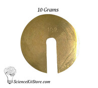 Slotted Weights, 10 grams