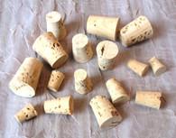 Natural Cork Stopper, 16pc Assortment