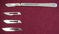 Scalpel and Blade Set (for Heavier Dissections)